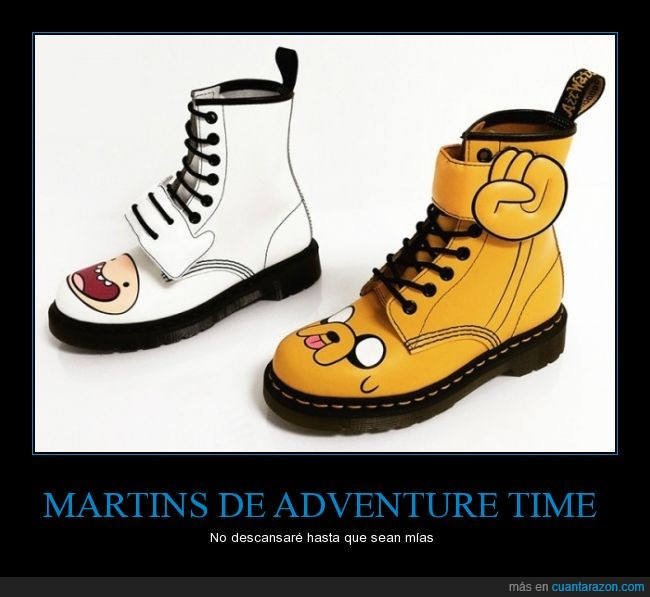 adventure time,botas,dr martins,finn,hora de aventuras,jake,martins,militar,punk