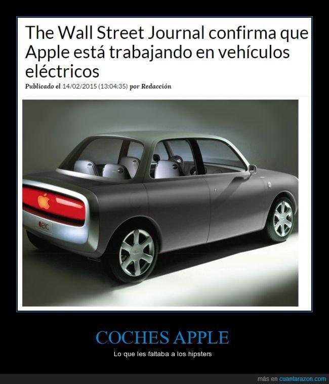 apple,coche,diseñar,eléctrico,hipster,mac
