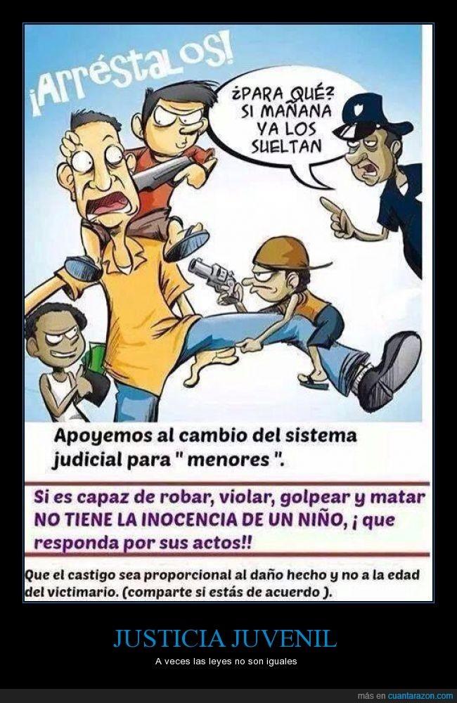 condena,delito,inocente,justicia,Ley,leyes,menor de edad,niño