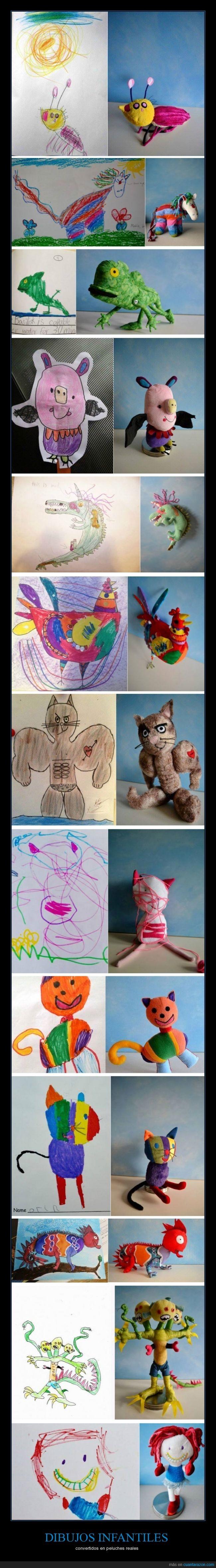 dibujo,gato,infancia,lagarto,muñeca,niña,niño,peluche