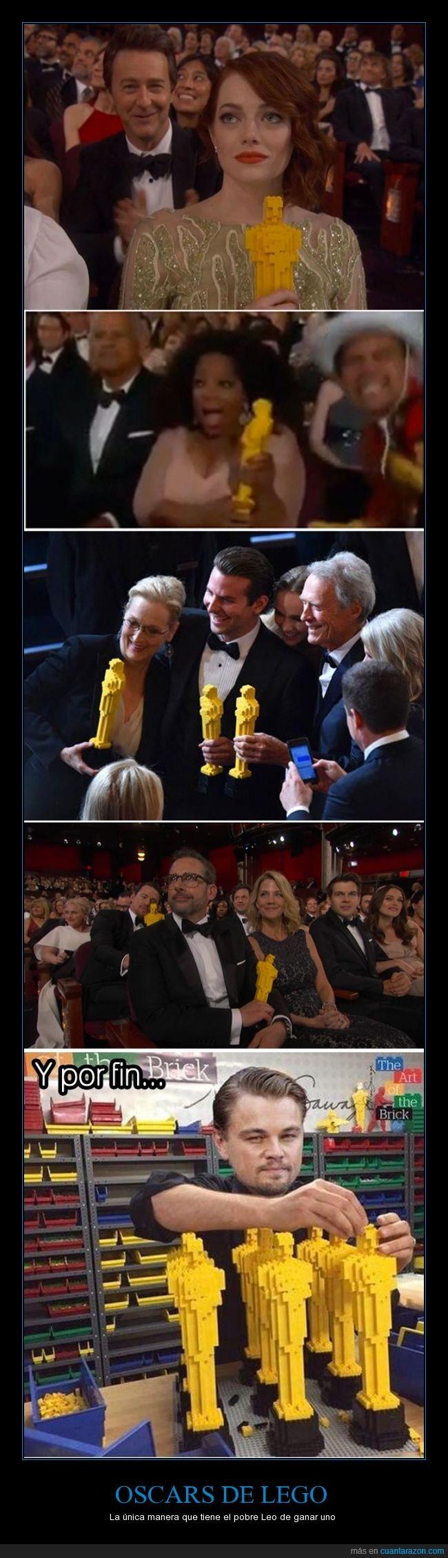 emma stone,lego,Leonardo DiCaprio,oprah,oscars,oscars 2015