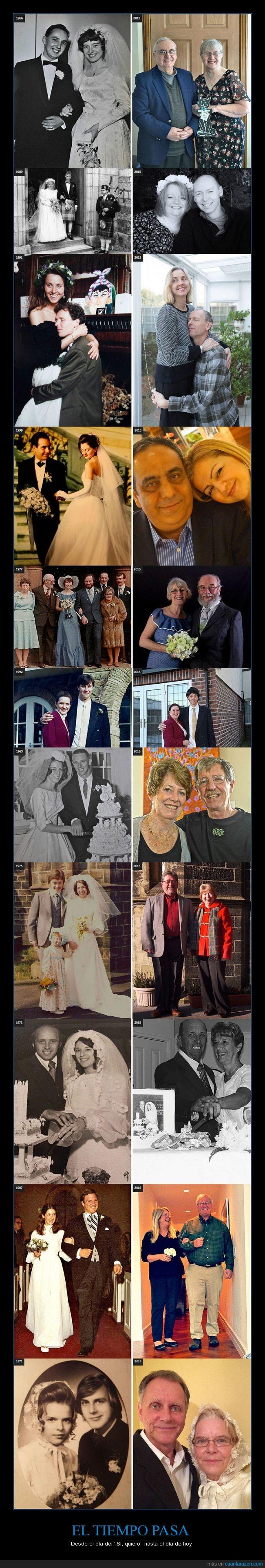 actualidad,amor,boda,casarse,evolucion,juntos,matrimonio,novios,pareja,tiempo