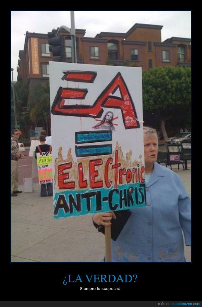anti-christ,anticristo,compañia,e3,EA,electronic