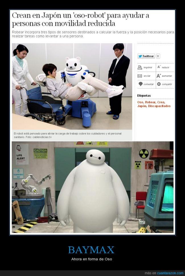 ayuda,baymax,big hero 6,es de verdad,robots
