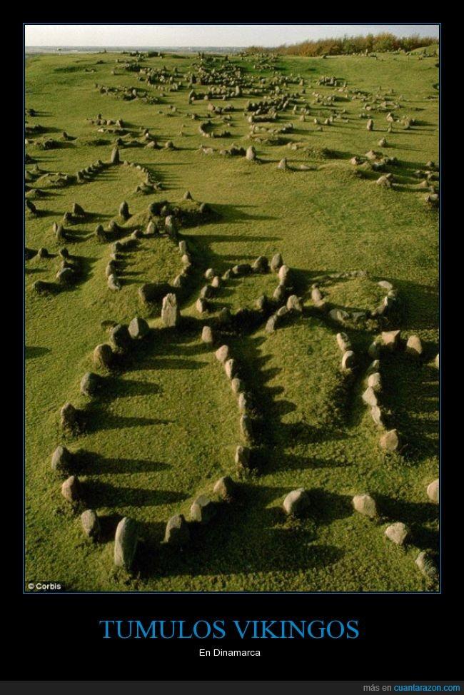 danes,dinamarca,piedra,roca,tumba,tumulos,vikingos