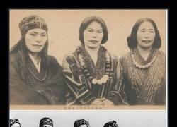 Enlace a ¿Por qué se tatuaban así la cara las Ainu?