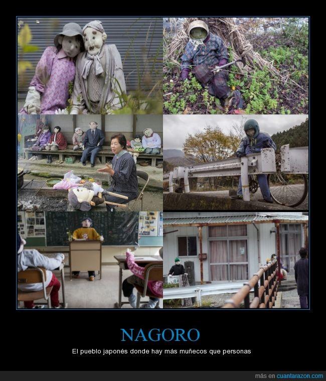 curiosidad,curioso,habitante,Japon,muñecos,Nagoro,persona,poblacion