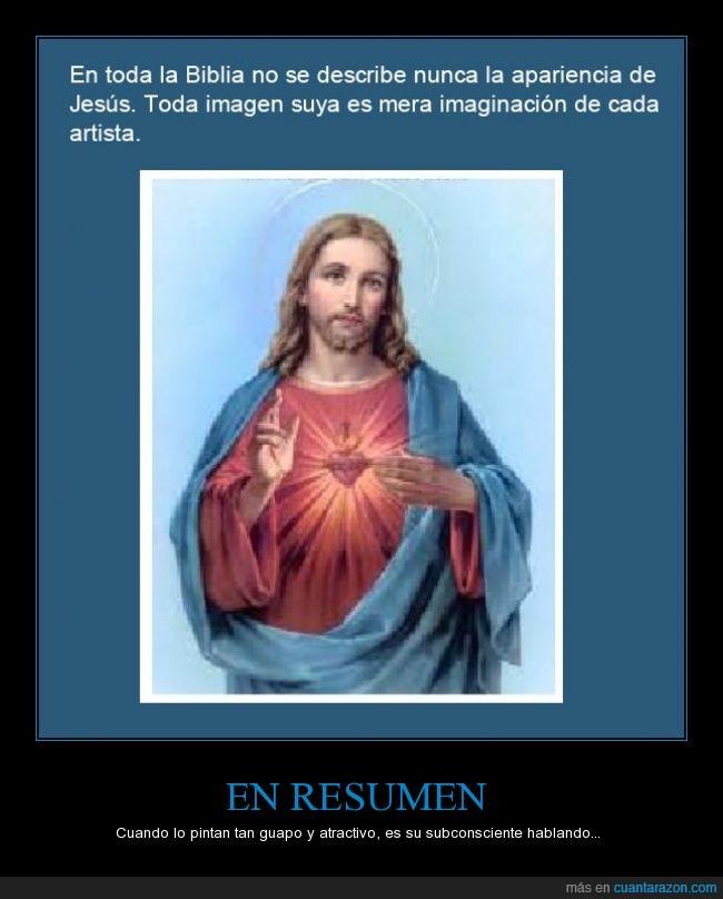 apariencia,biblia,curioso,dato,describir,descripción,imagen,jesus,pintar