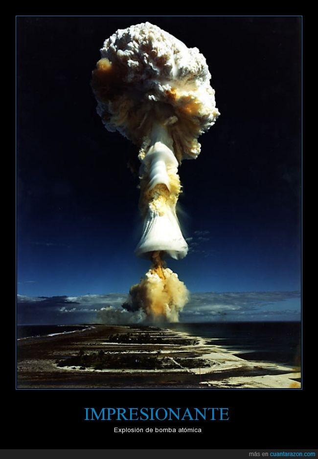 atomica,bomba,expansiva,explosion,hongo,nube,nuclear,onda