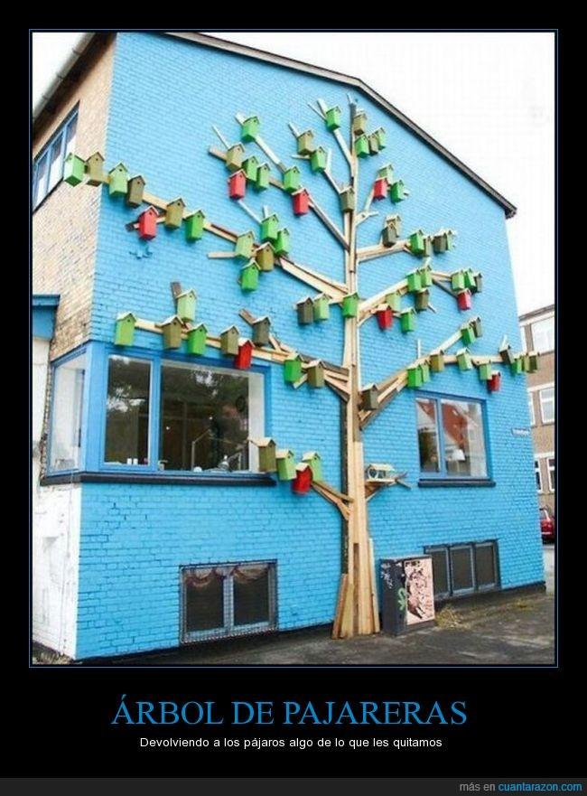 arbol,ave,decoración,detalle,pajarera,pajaro,pared