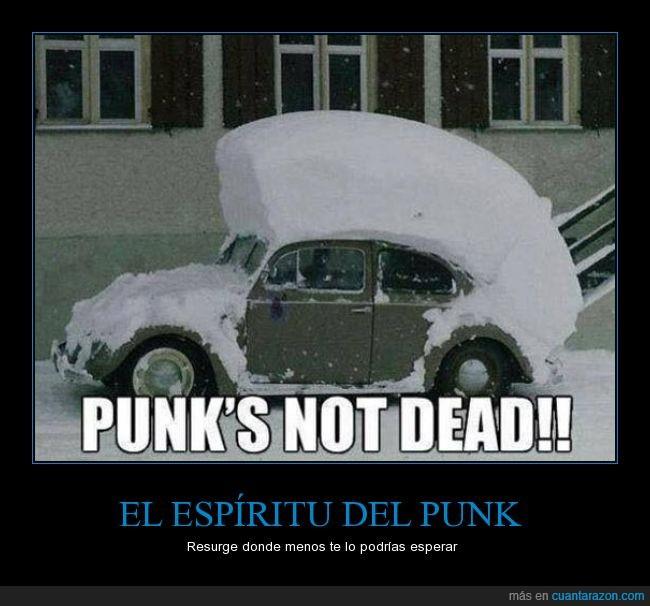 caer,coche,cresta,donde menos te lo puedes esperar,frio,hielo,nieve,Punk