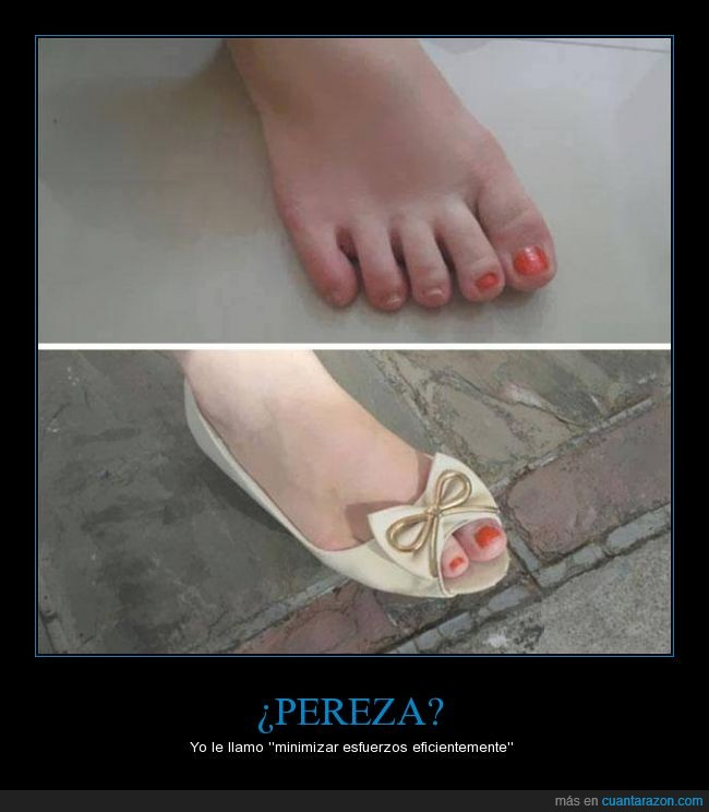 pedicura,pereza,pie,pintar,pintauñas,uñas,vaga,ya ves tú lo que le costaba pintarse 3 uñas más,Zapato,zapatos
