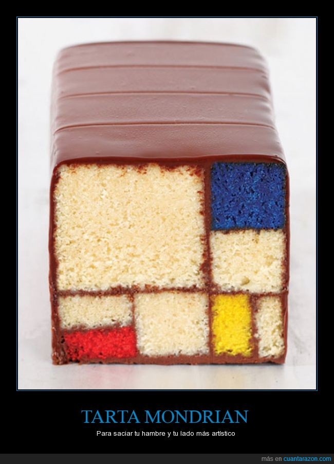 arte,colores,cuadrado,cuadro,estílo,pastel,Piet Mondrian,tarta