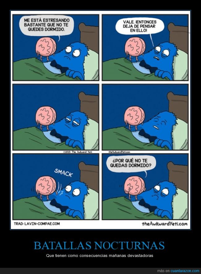 cama,cerebro,dormir,monstruo,por qué,preocupacion,sueño