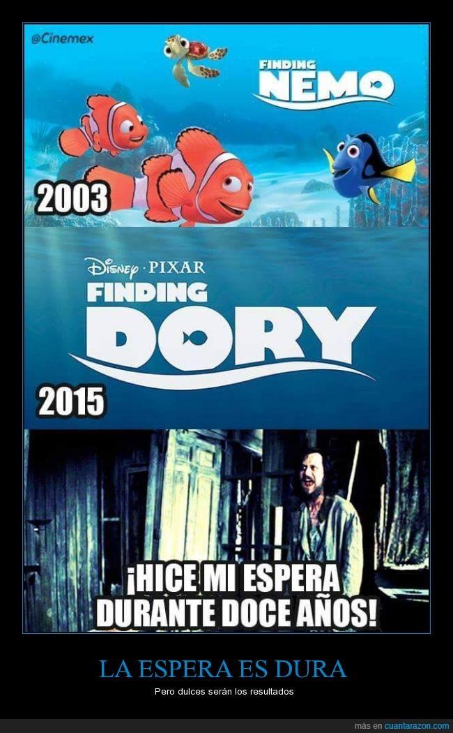 dory,esperar,finding dory,finding nemo,harry potter,nemo,sirius black