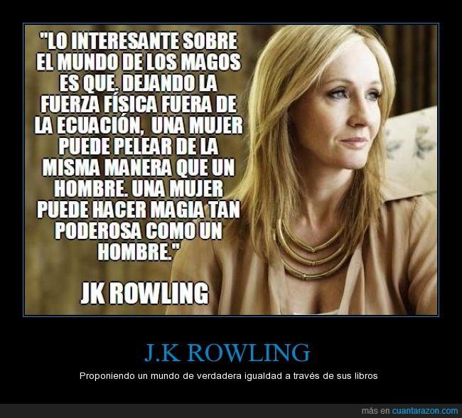 harry Potter,hombre,igualdad,J.K Rowling,libros,mujer