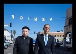 Enlace a OBAMA Y KIM JONG-UN