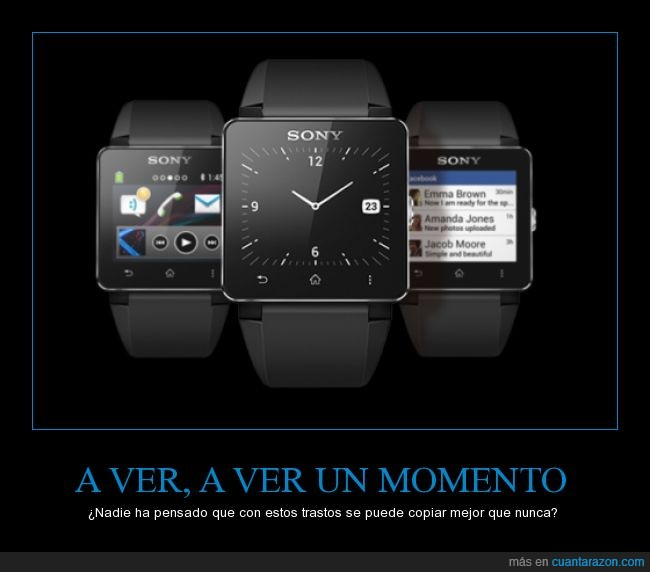 apple,copiar,examen,google,inteligente,reloj,sony