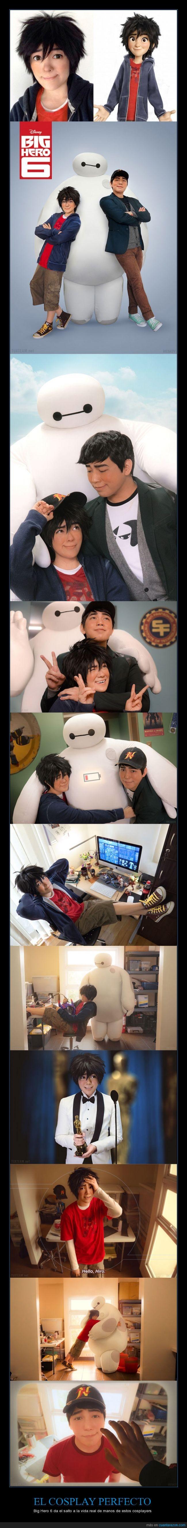 Bayman,clavado,cosplay,disfraz,disfrazarse,Hiro,perfecto,Tadashi