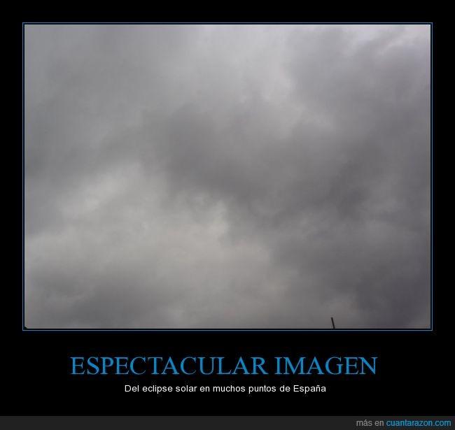 cielo,eclipse,fracaso absoluto,maldita sea,nubes,nublado,solar,tapado