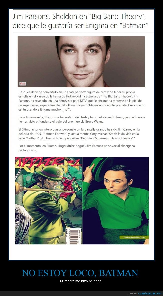 Acertijo,actor,batman,Gotham,jim parsons,Sheldon Cooper