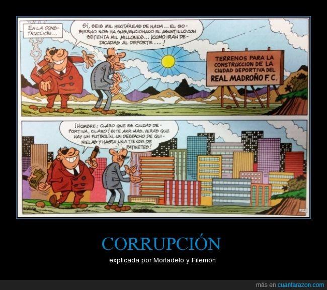 cambio Ya,Corrupción,El Tesorero,Ibañez,ladrones,Mortadelo y Filemón