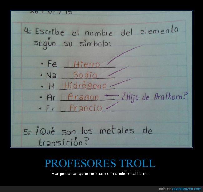Aragon,argon,Fan,hijo de Arathorn,Lord of the Ring,Middle Earth,Profesor,quimico,simbolo,Tolkien