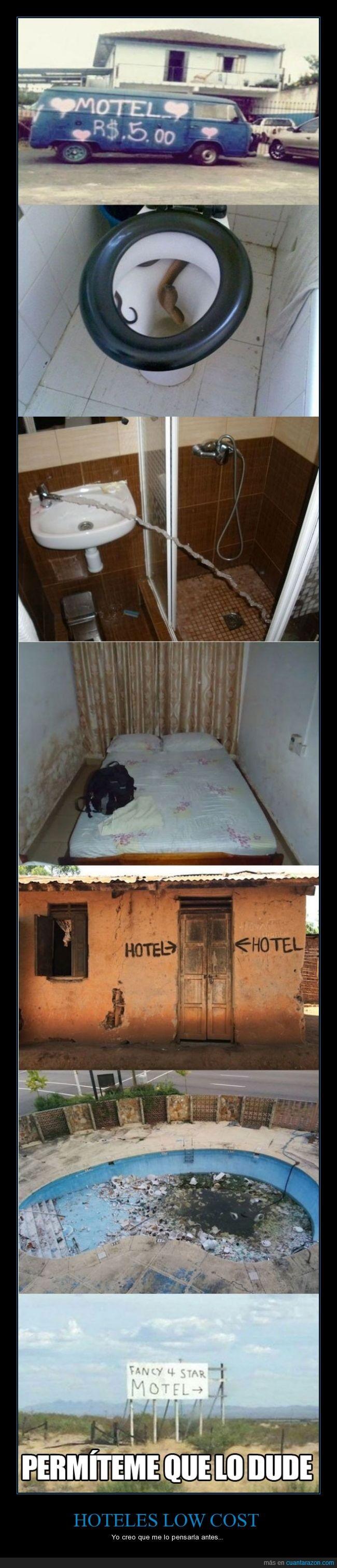 bajo costo,hotel,low cost,que es lo peor que puede pasar,yo me quedo en cualquiera igual soy pobre