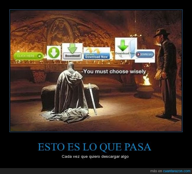 copa,correcto,descarga,descargar,download,elegir,error,flecha,icono,Indiana Jones,link,virus