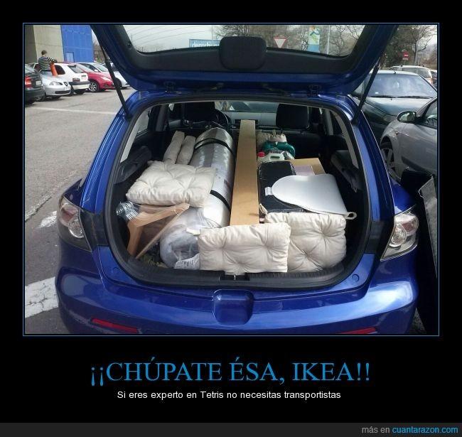comprar,Ikea,maletero,muebles,orden,perfecto,tetris
