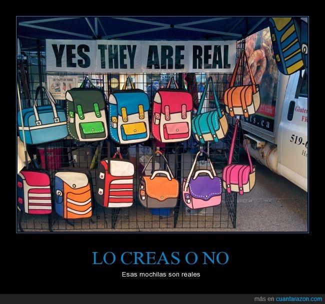 bolso,comprar,cuesta creer,dibujada,dibujo,estampado,ilustracion,junta,mochila