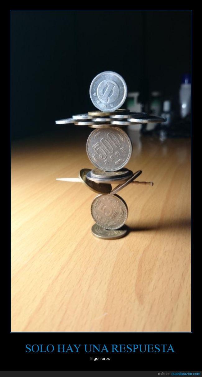 asombroso,calcular,colocar,equilibrar,equilibrio,ingenería,monedas,peso