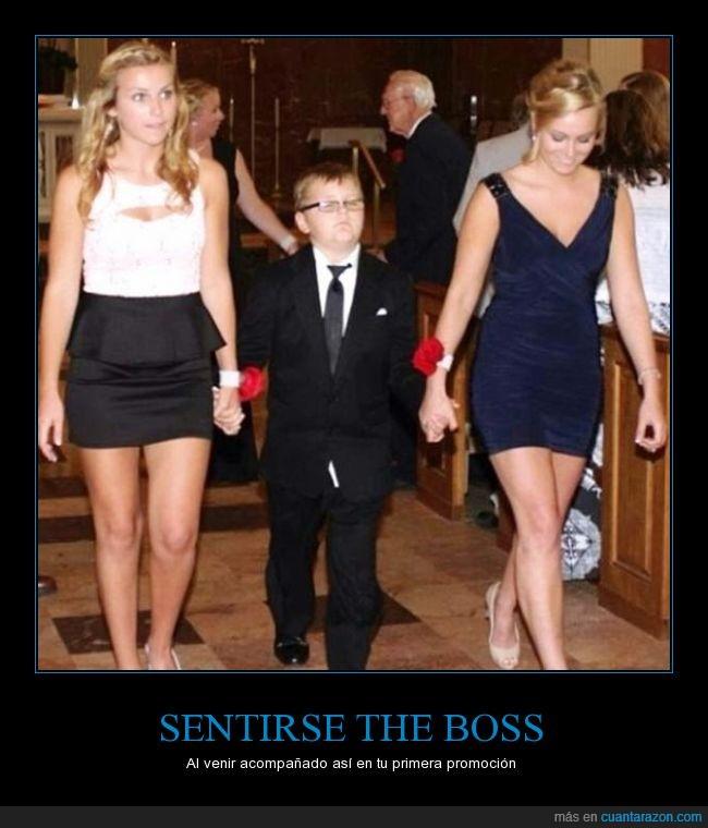 acompañante,compañía,feliz,fiesta,niño,promoción,the boss