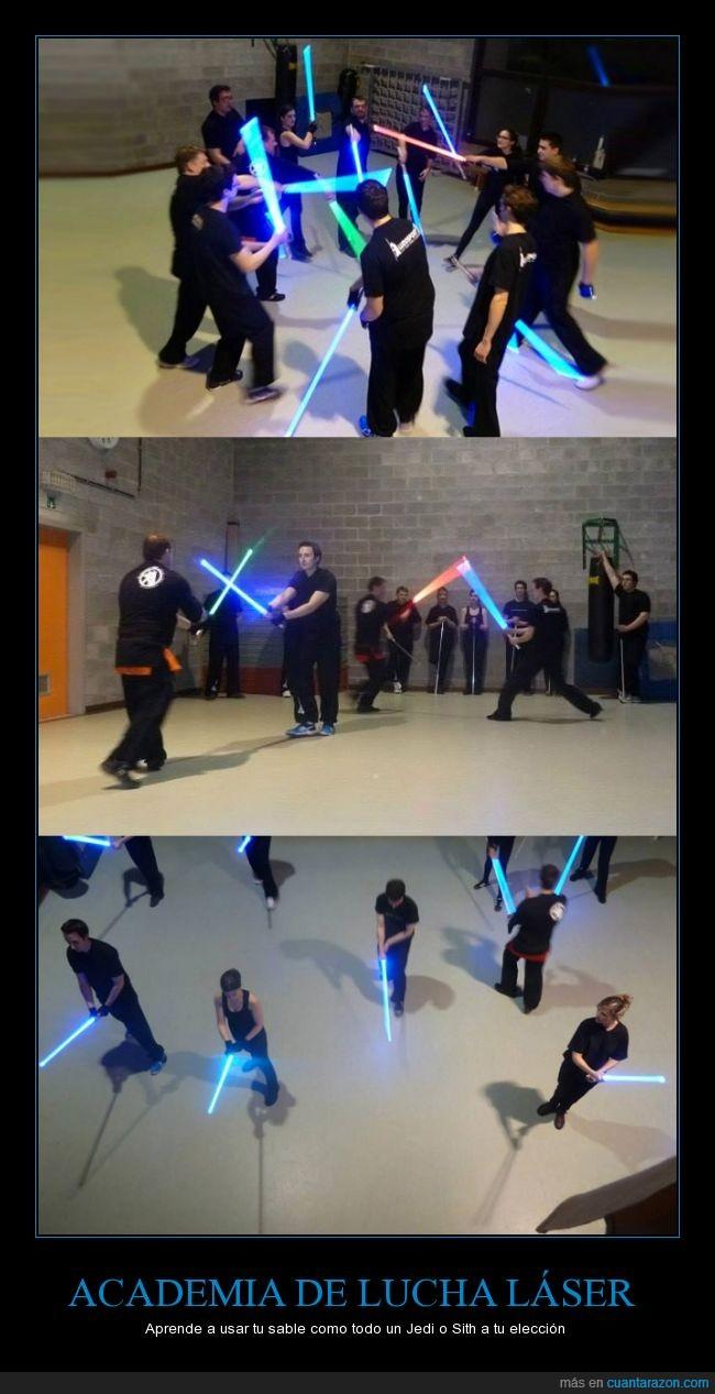 academia,belgica,espada,la guerra de las galaxias,laser,real,sable,Star Wars