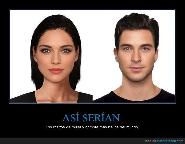 belleza,cara,elegir,guapa,guapo,hombre,morena,mujer,prueba,rostro