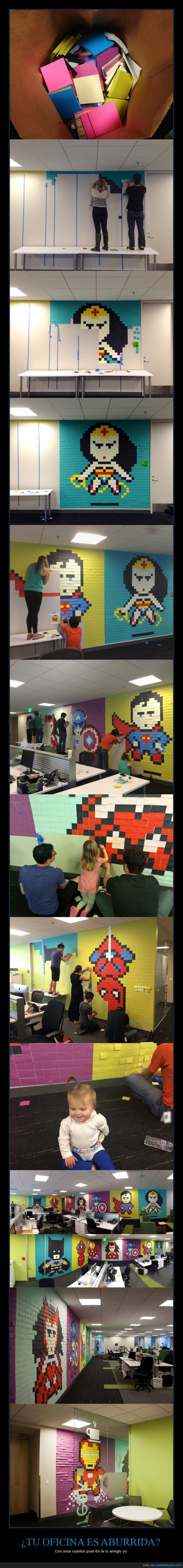 cuadrado,cuadro,iron man,papel,pegatina,pixel,post-it,postit,superheroes,superman,wonderwoman