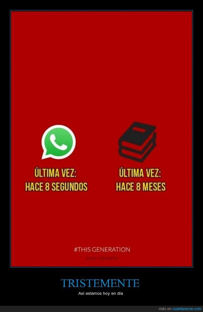 Ajit Johnson,generación,leer,libro,telefono,thisgeneration,whatsapp