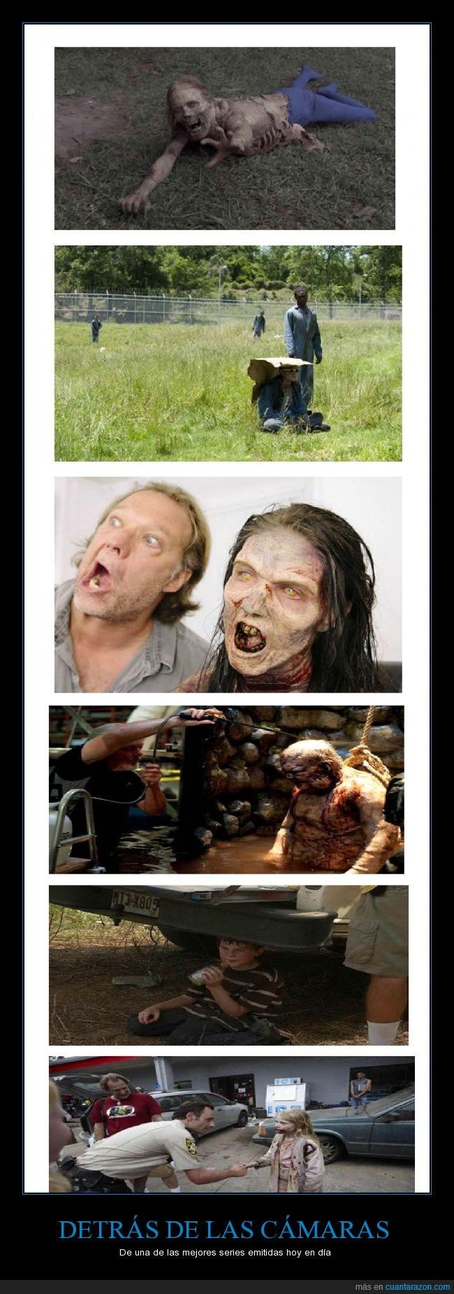 camara,caminante,daryl,detrás de las cámaras,serie,the walking dead,twd,zombie