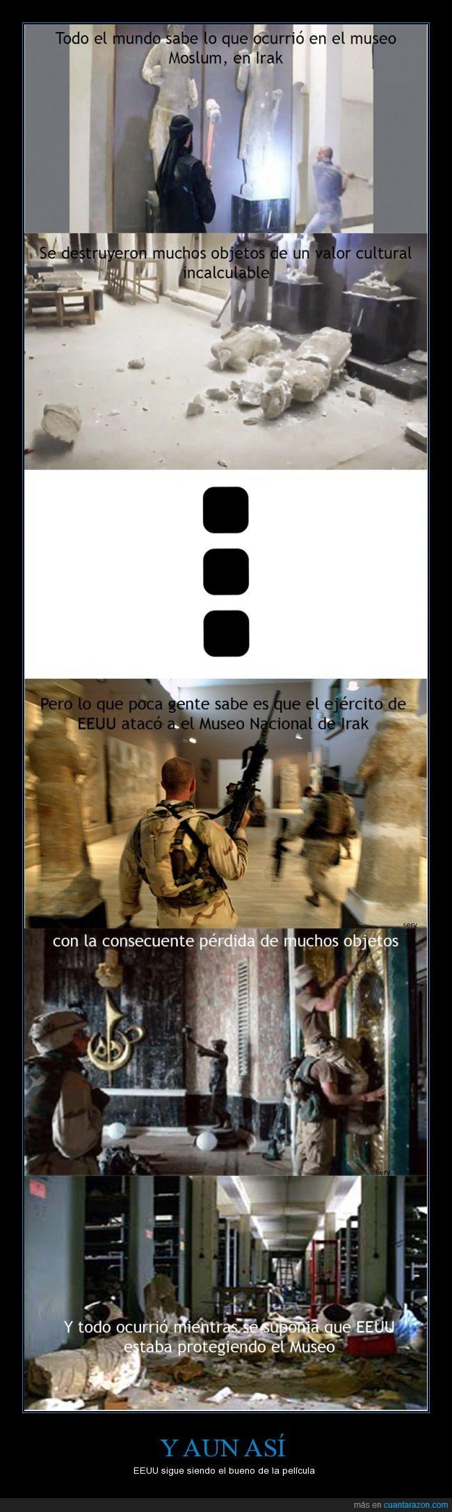 2 saqueos,cultura,Destrucción,EEUU,isis,museo,terroristas,yihadistas