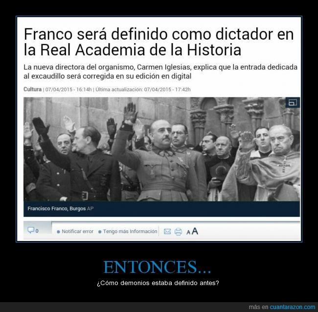derechas,dictador,falange,Francisco,franco,historia