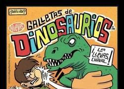 Enlace a ¿Te gustan las galletas de dinosaurios?