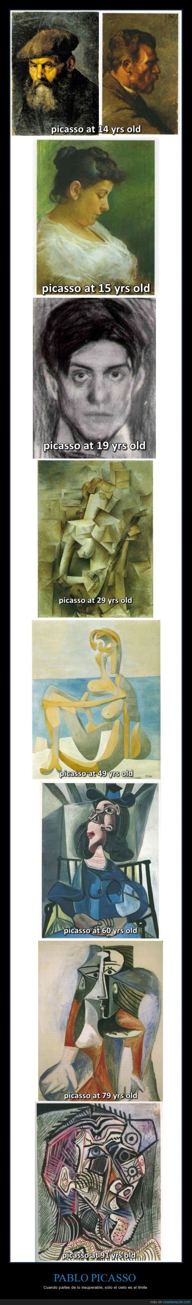 arte,cuadro,cubismo,deconstruccion,evolucion,Pablo Picasso,pintura,realismo,talento