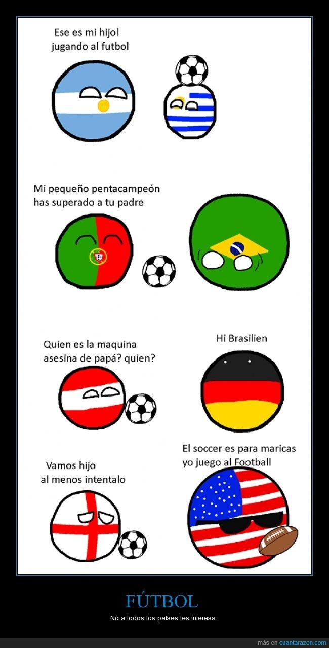 argentina,estados unidos,futbol,hijos,polandball,soccer,uruguay