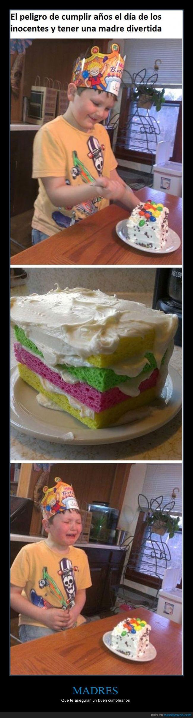 color,cumpleaños,delicia,esponjas,madre,niño,pastel,regalo,rico,tarta