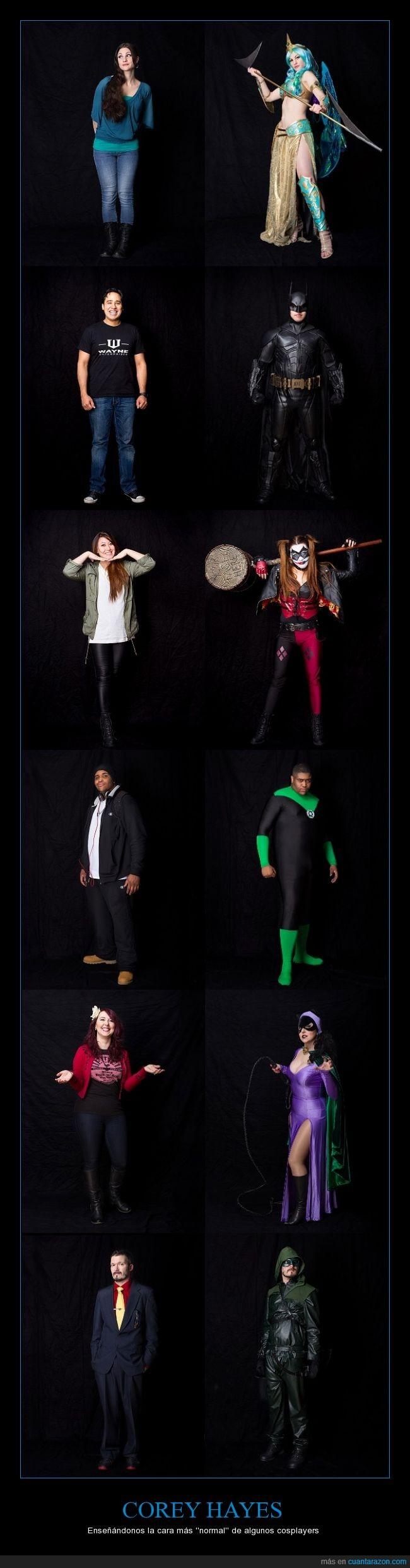 batgirl,batman,Corey Hayes,cosplay,cosplayer,disfraz,disfrazado,Green Arrow,Harley Quinn