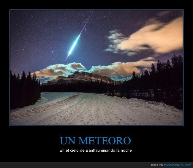 Banff,canada,cielo,luz,meteoro