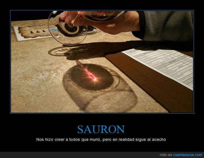 brillo,cata,El Señor de los Anillos,ojo,reflejo,Sauron,vinos
