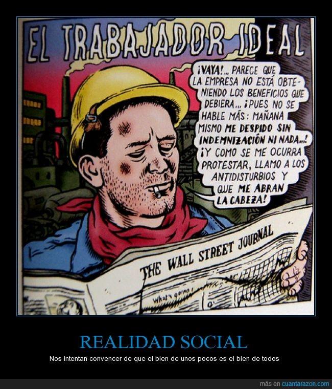 casco,despedir,empresa,Miguel Brieva,realidad social,Trabajador