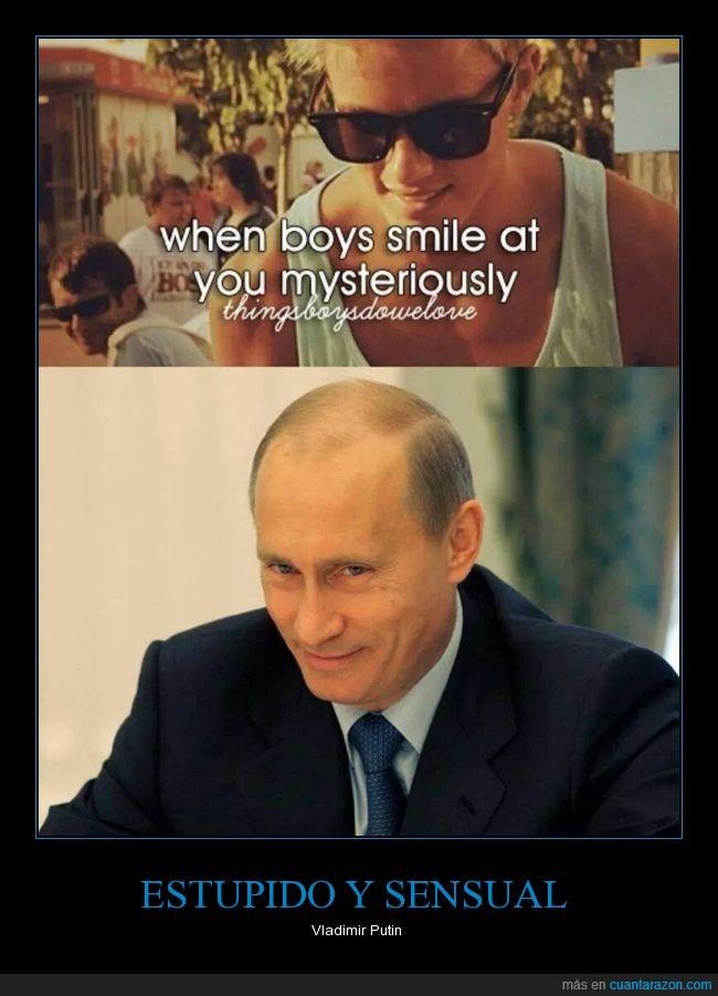 mirada,misteriosa,sonrisa,thigsboysdowelove,Vladimir Putin