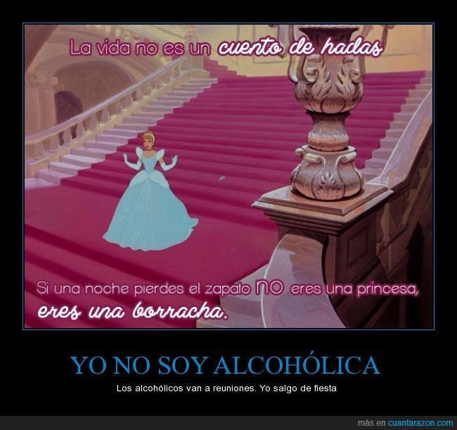 alcoholica,beber,borracha,borrachera,borracho,cenicienta,copa,cubata,perder,reunion,zapato